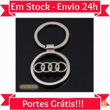 L69 Porta Chaves Metálico Audi Excelente Qualidade STOCK 24h