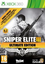 XBOX360 - Sniper Elite 3 III Ultimate Edition - NOVO/SELADO
