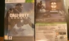 Call of Duty Ghosts - Hardened Edition - NOVO  - XBOX 360