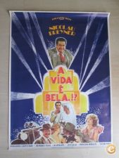 Cartaz do Filme a Vida é Bela - 1982