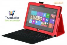 R613 Capa Pele Microsoft Surface 10.6 Windows 8 RT stock