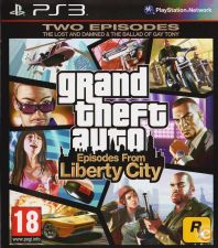 GTA - grand theft auto - Episodes from Liberty City - PS3