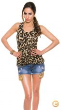 TOP SEXY LEOPARDO ALINE