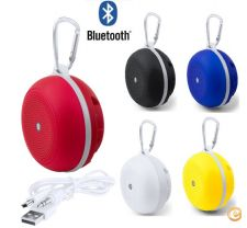 Altifalante Bluetooth em 5 cores