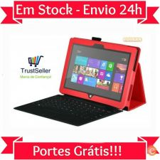 R613 Capa Pele Microsoft Surface 10.6 Windows 8 RT 2 stock