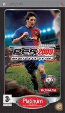 Jogo PlayStation PSP - Pro Evolution Soccer 2009 Platinum