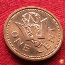 Barbados 1 cent 1999 KM# 10a   *V